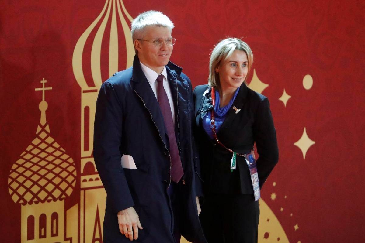 Ministro dos Esportes da Rússia Pavel Kolobkov | Sergei Karpukhin/Reuters