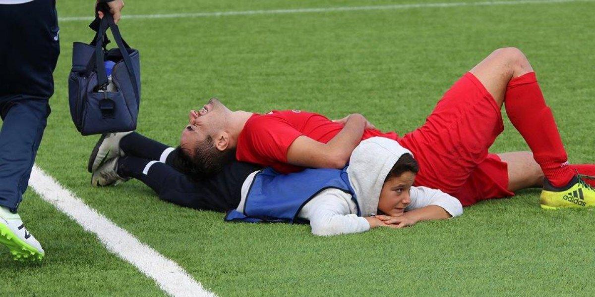 Niño de 12 años salva la vida de futbolista durante partido