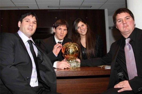 Matías (a la izquierda) es el hermano del crack de Barcelona que tiene un polémico historial en Argentina / Foto: Twitter