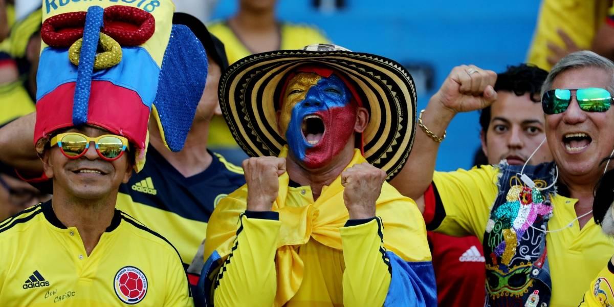Estos serán los partidos de Colombia en la fase de grupos del Mundial