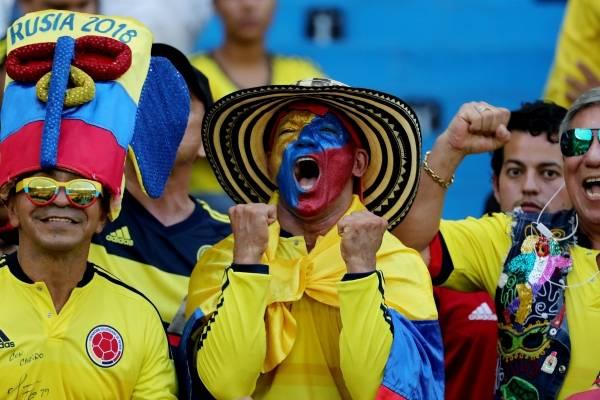Partidos de Colombia en el Mundial