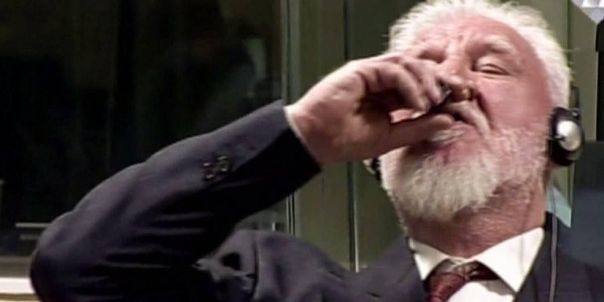 Usó criminal croata cianuro para suicidio