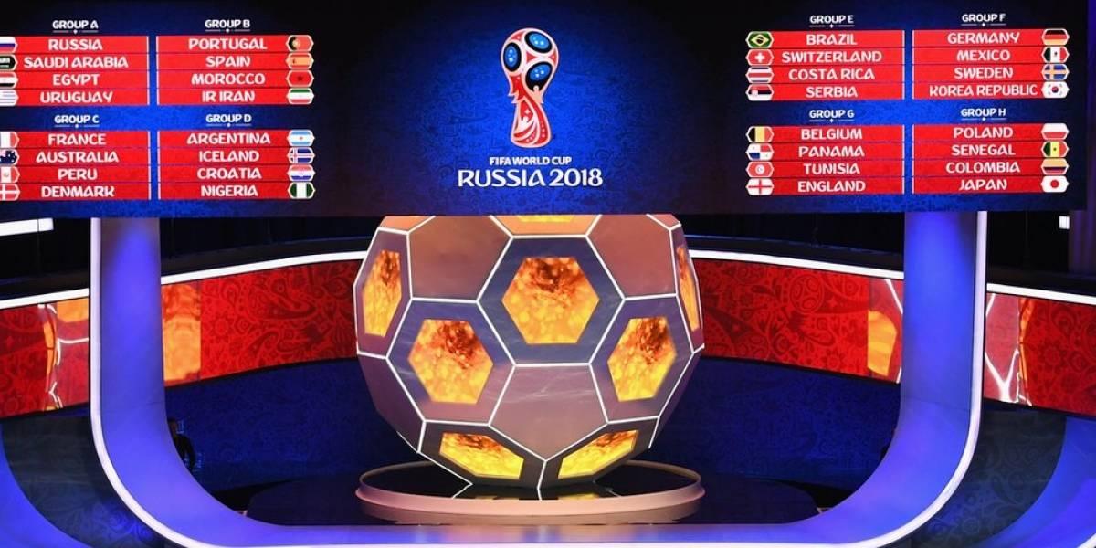 """Sorteo Mundial Rusia 2018: las selecciones favorecidas, las perjudicadas, el grupo de la """"muerte"""" y las predicciones de BBC Mundo"""