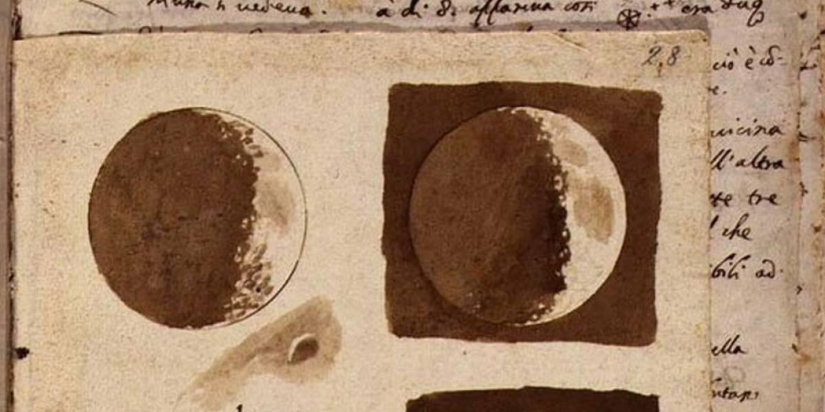 Por qué los primeros dibujos de la Luna de Galileo Galilei revelan una nueva era en la visión del universo