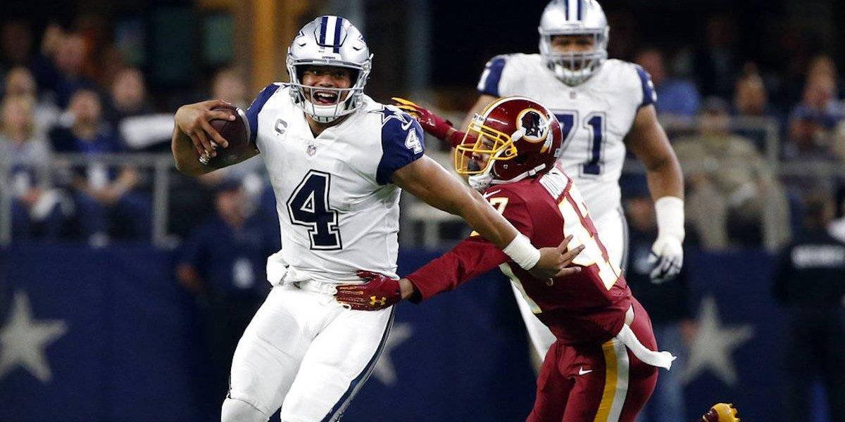 Vaqueros apalea a Pieles Rojas en inicio de la semana 13 de NFL