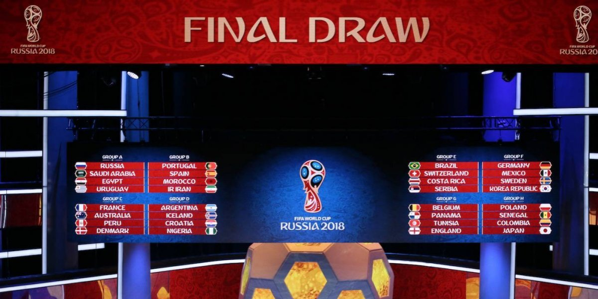 ¡Está listo! Conoce el calendario completo del Mundial de Rusia 2018