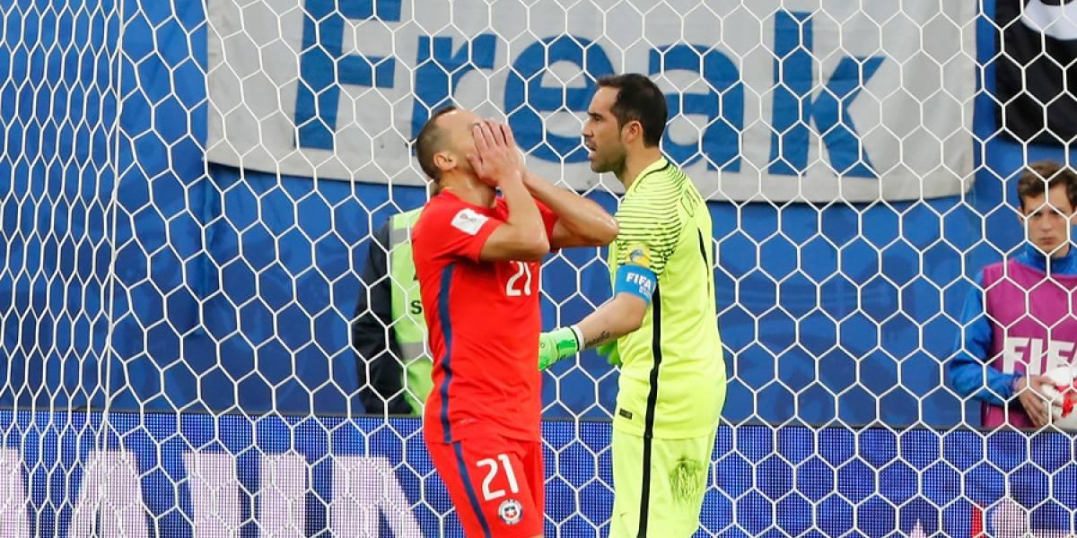 """""""Por la CTM"""": la rabia de Marcelo Díaz viendo el sorteo del Mundial de Rusia"""
