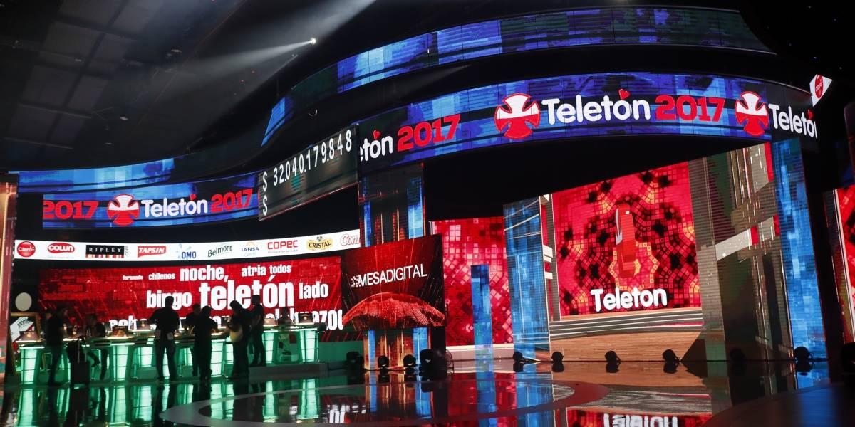 #ElAbrazodeTodos: La Teletón da inicio a las 27 horas de amor