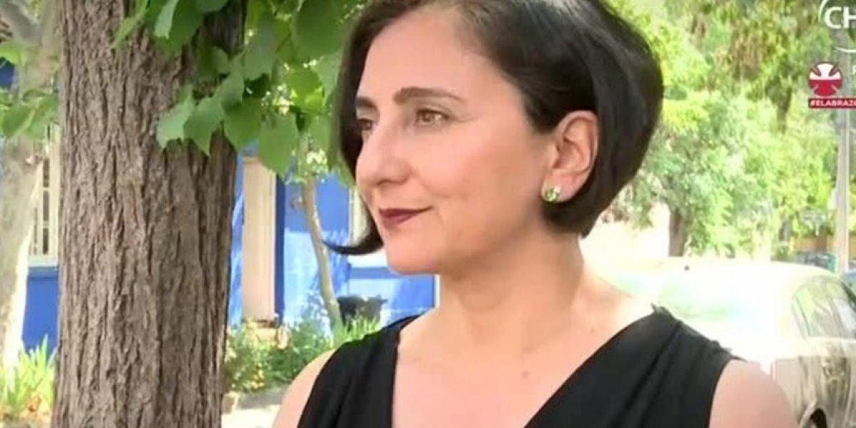 Ximena Rivas se despidió de