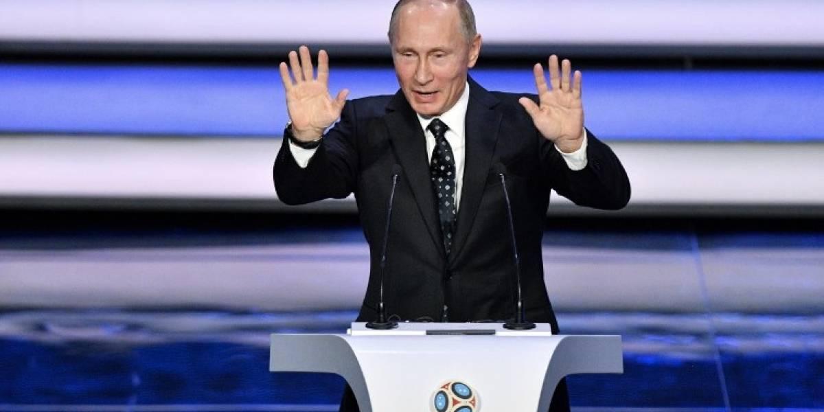 """Putin: """"Rusia tiene la intención de llevar a cabo el Mundial 2018 al más alto nivel"""""""