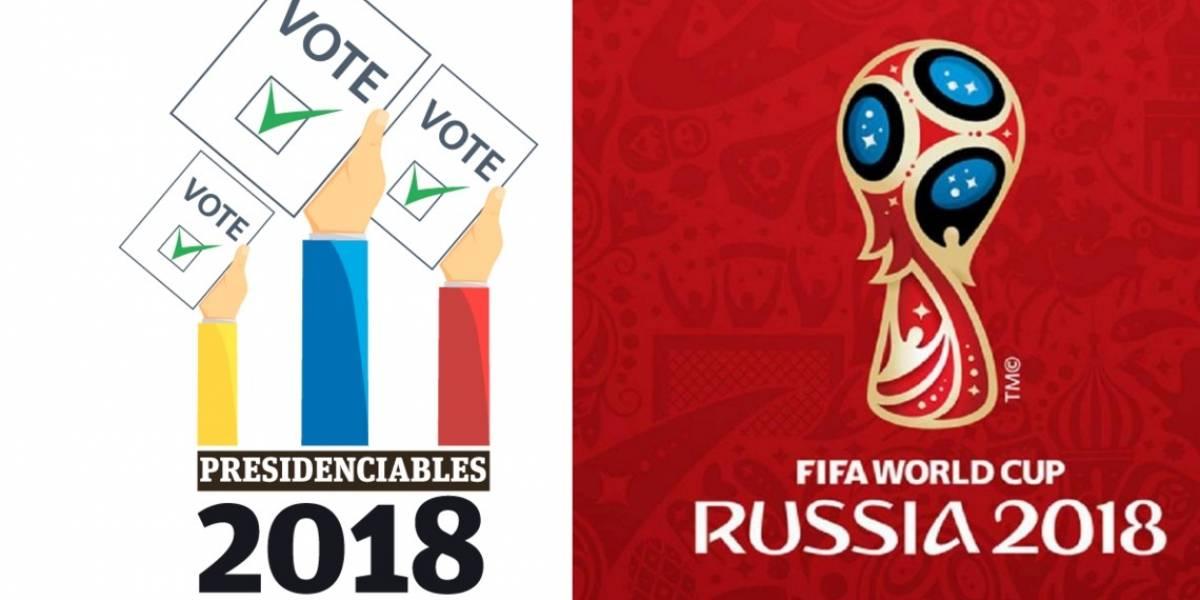 Los partidos del mundial de Rusia que se cruzarán con las elecciones presidenciales