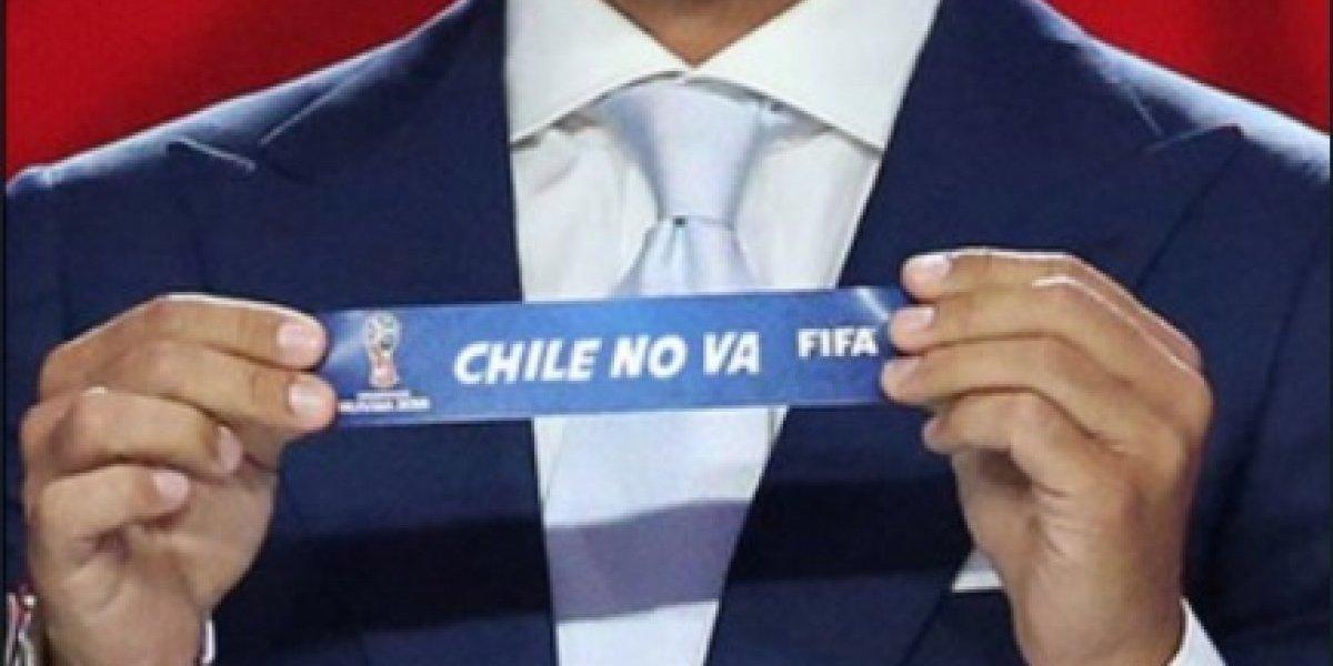 Era que no: Chile fue la víctima favorita de las bromas del sorteo del Mundial