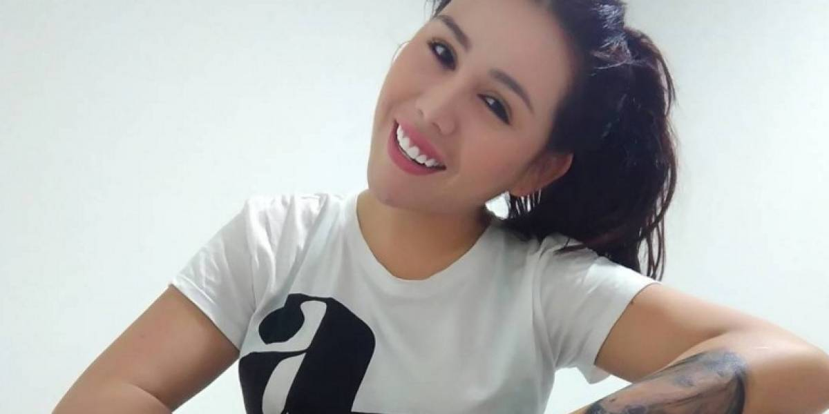 Yina Calderón y la foto íntima que le envió a su novio