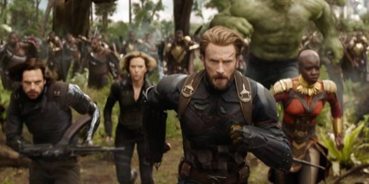 Avengers: Infinity War llega a salas de cine