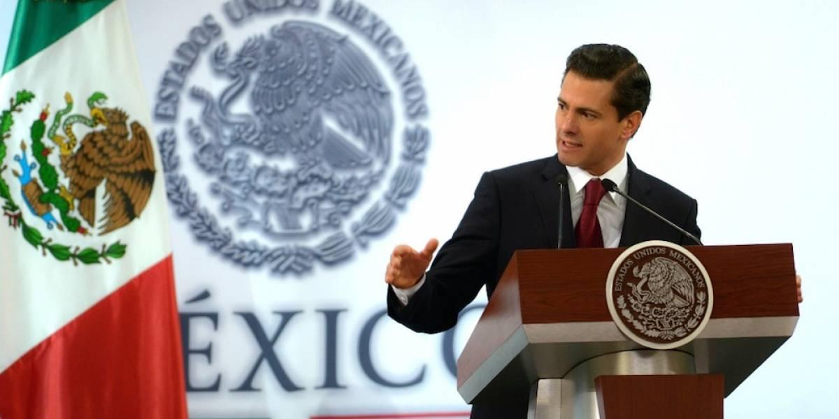 Este es el gabinete con el Peña Nieto recibe el 2018