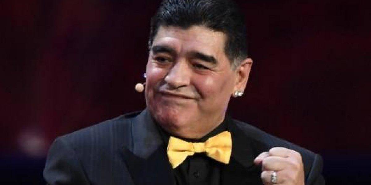 VIDEO. El curioso video de Maradona entrenando al ritmo de Maluma y J Balvin