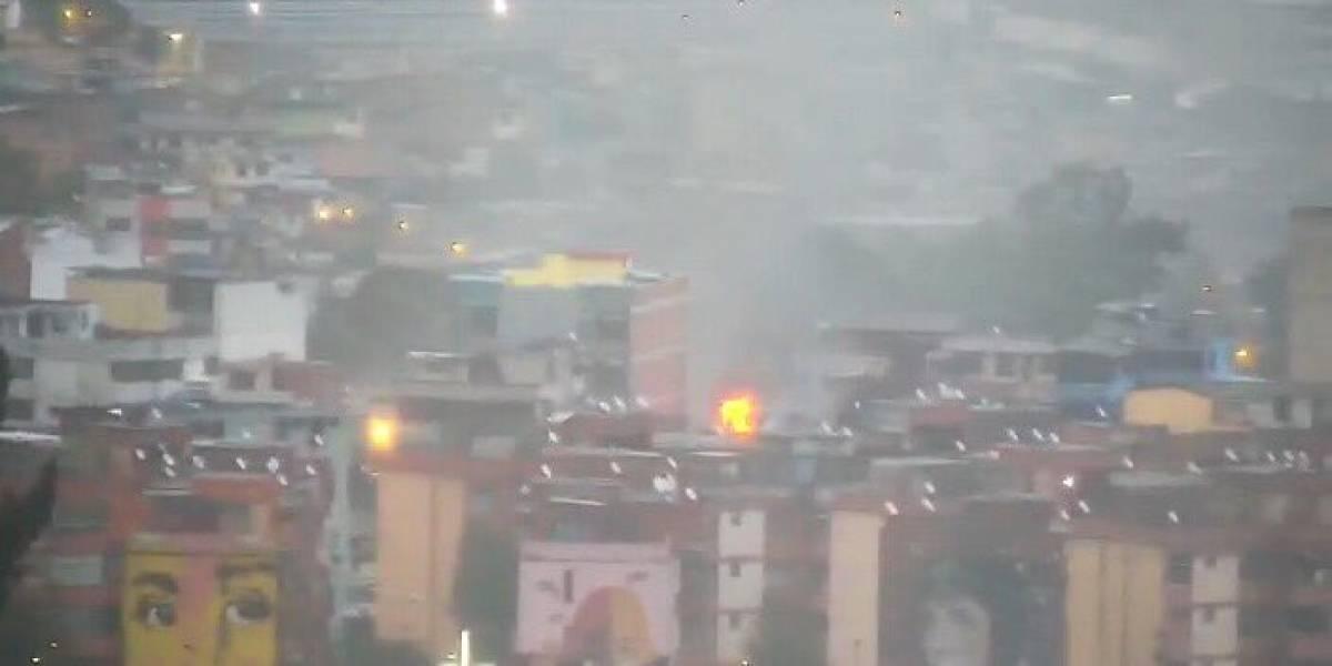 Conato de incendio estructural sector La Villaflora