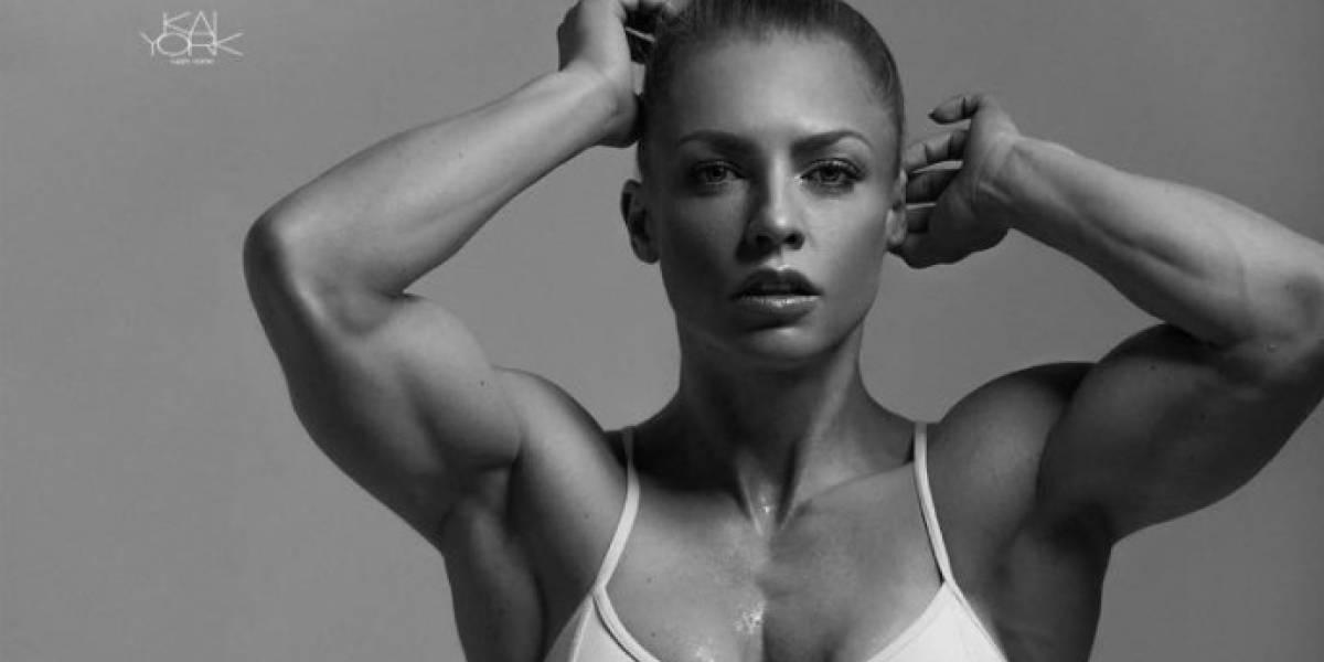 """Mujer con """"0% de grasa corporal"""" es criticada por tener cuerpo de """"hombre"""""""