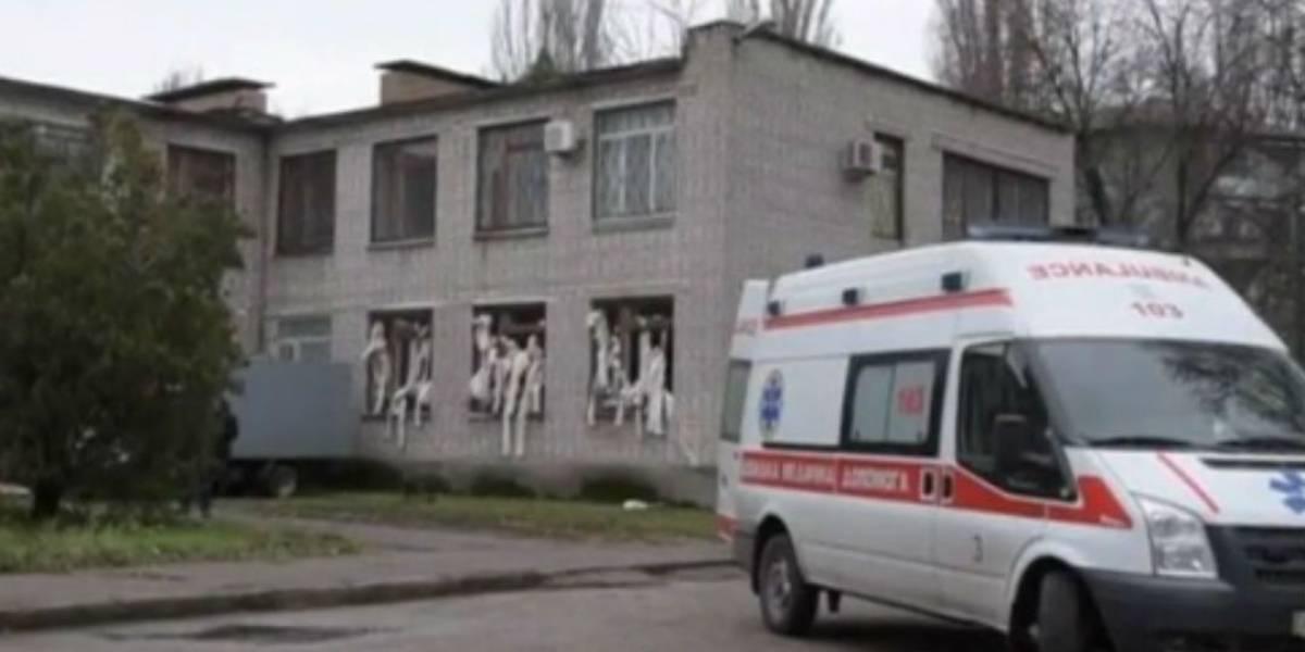 Homem morre ao jogar duas granadas em Tribunal da Ucrânia