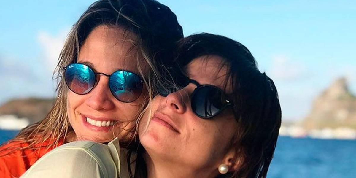 Fernanda Gentil compartilha memória de viagem com a namorada