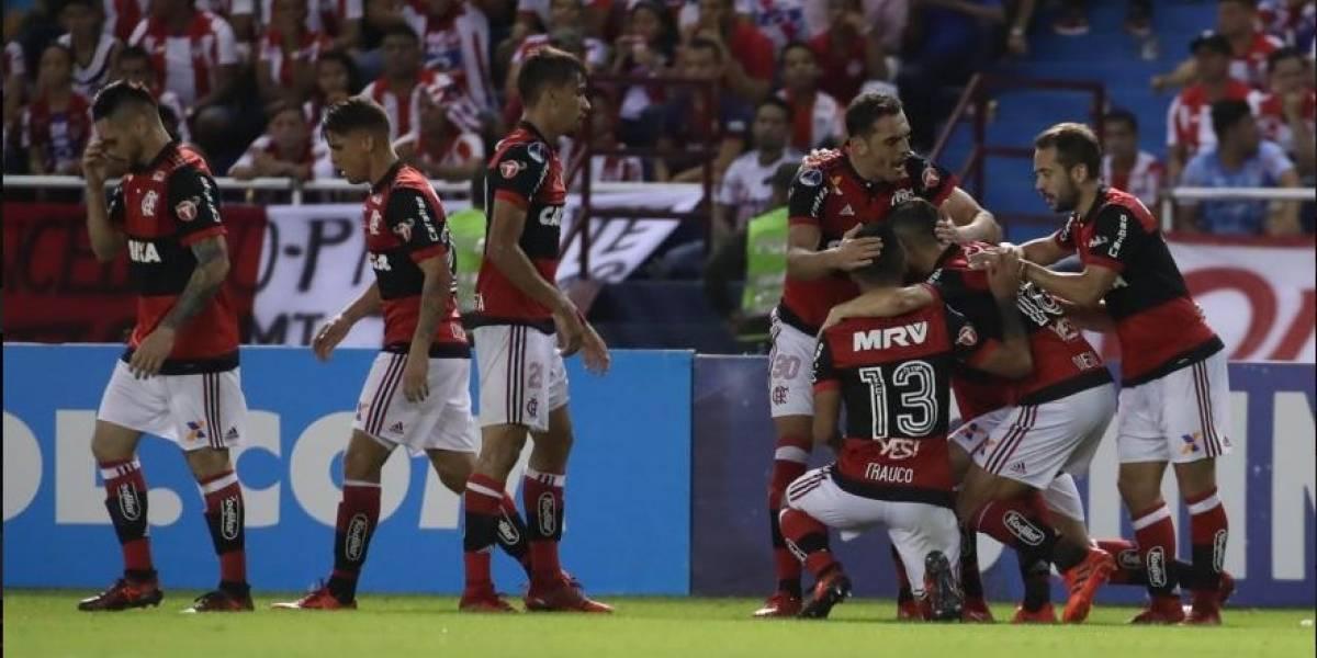 Flamengo vence na Colômbia e está na final da Copa Sul-Americana