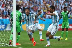 Argentina siempre le ha ganado a Nigeria en el Mundial / Getty Images