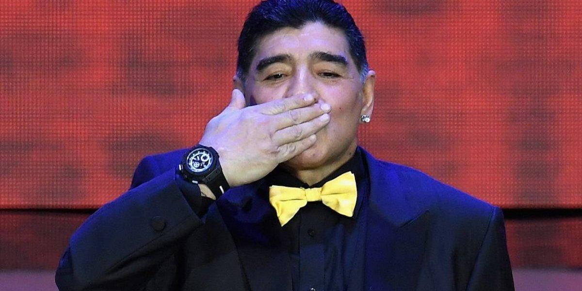 VIDE: Maradona critica a la Selección de Argentina en pleno sorteo del Mundial