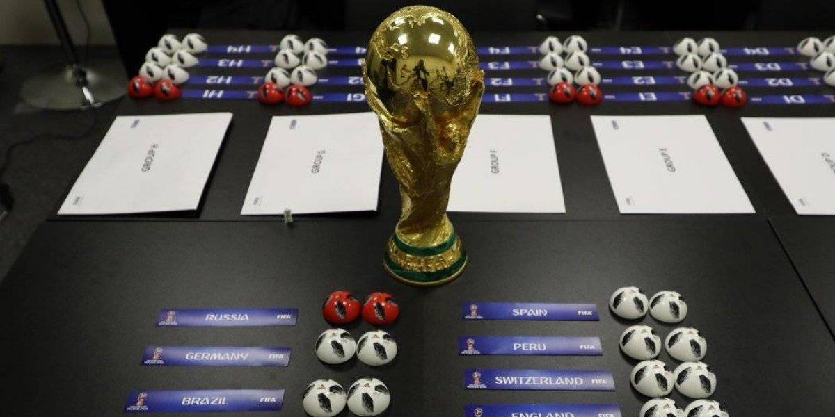 Grupos del Mundial de Rusia 2018