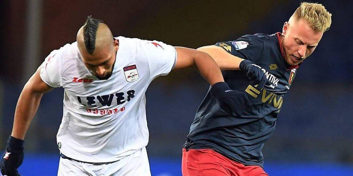 """El chileno Rodríguez debutó en el Genoa y ya piensa en los amistosos pre Mundial: """"Uno siempre quiere estar"""""""