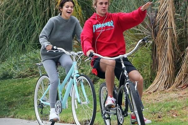 Justin y Selena 2017