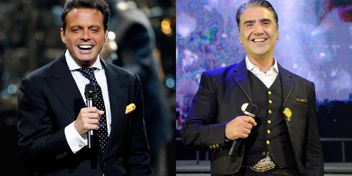Luis Miguel y Alejandro Fernández hacen las paces