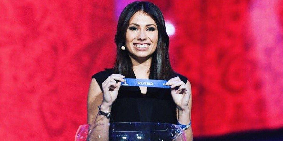Descubra quem é Maria Komandnaya, a apresentadora da Copa