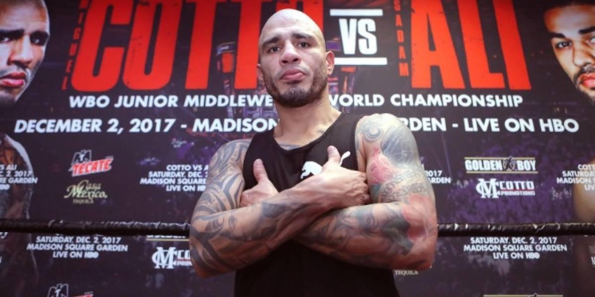 Miguel Cotto le dice adiós al boxeo profesional