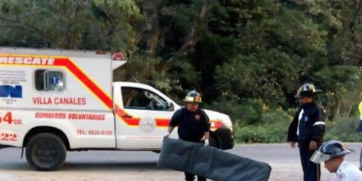 Localizan dos hombres fallecidos en Villa Canales