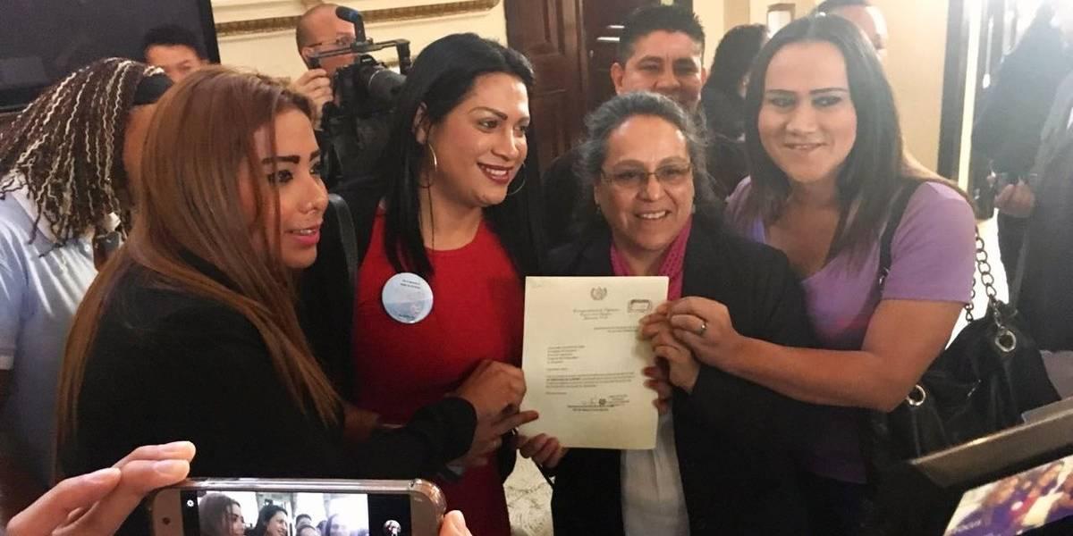 Sandra Morán presenta ley de identidad de género para los trans