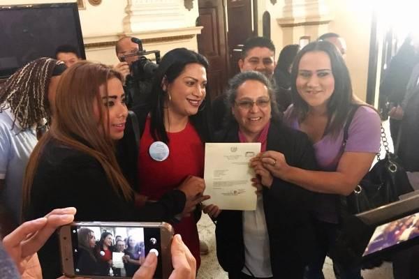 Sandra Morán y mujeres trans