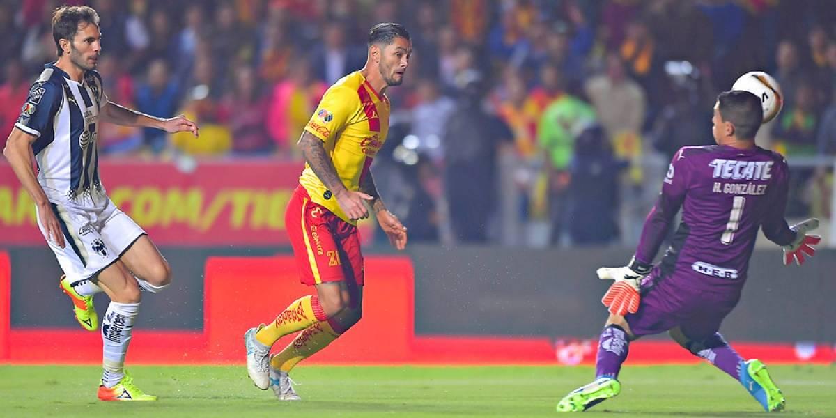 Monterrey se impuso al Morelia de los chilenos y quedó a un paso de la final en México