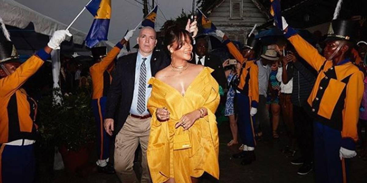 Rihanna é homenageada com nome de rua em Barbados