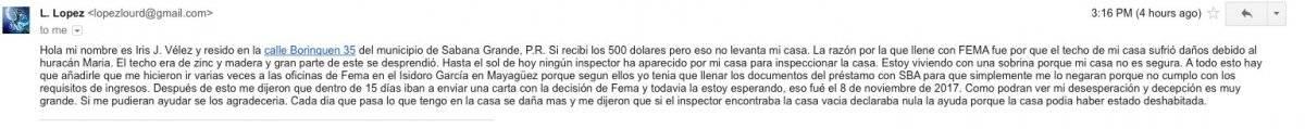 Quejas de los lectores de Metro por problemas con la solicitud a la Agencia Estatal para el Manejo de Emergencias.