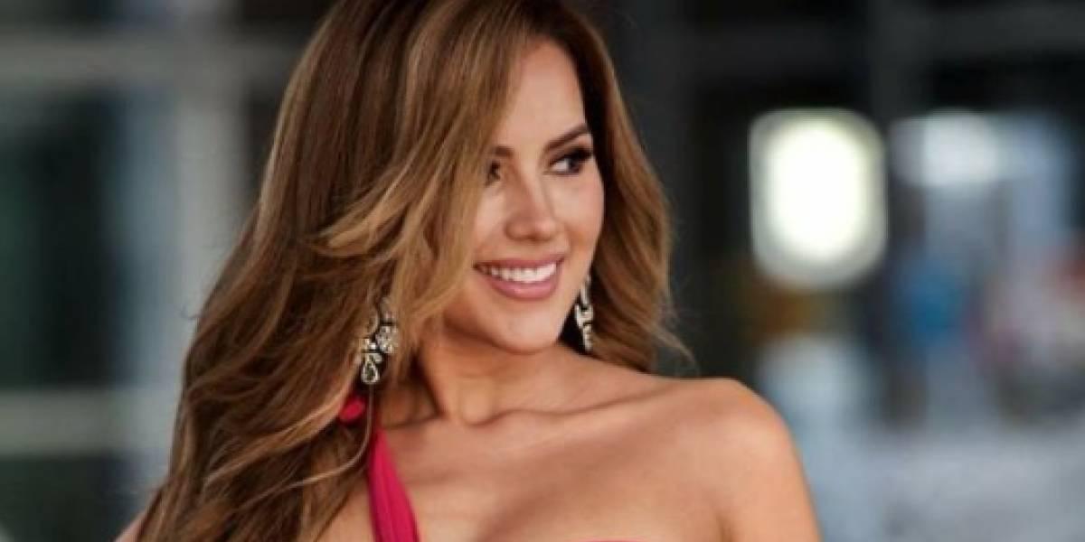 Miss Ecuador se cae de frente en plena presentación en traje de baño