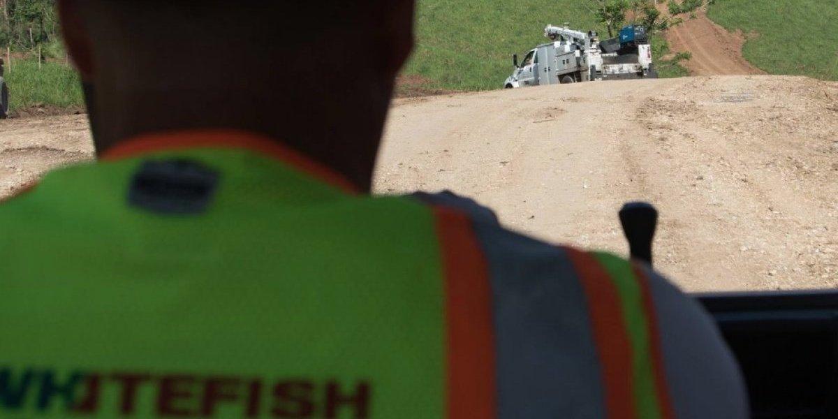 Whitefish completa labores para levantar servicio eléctrico