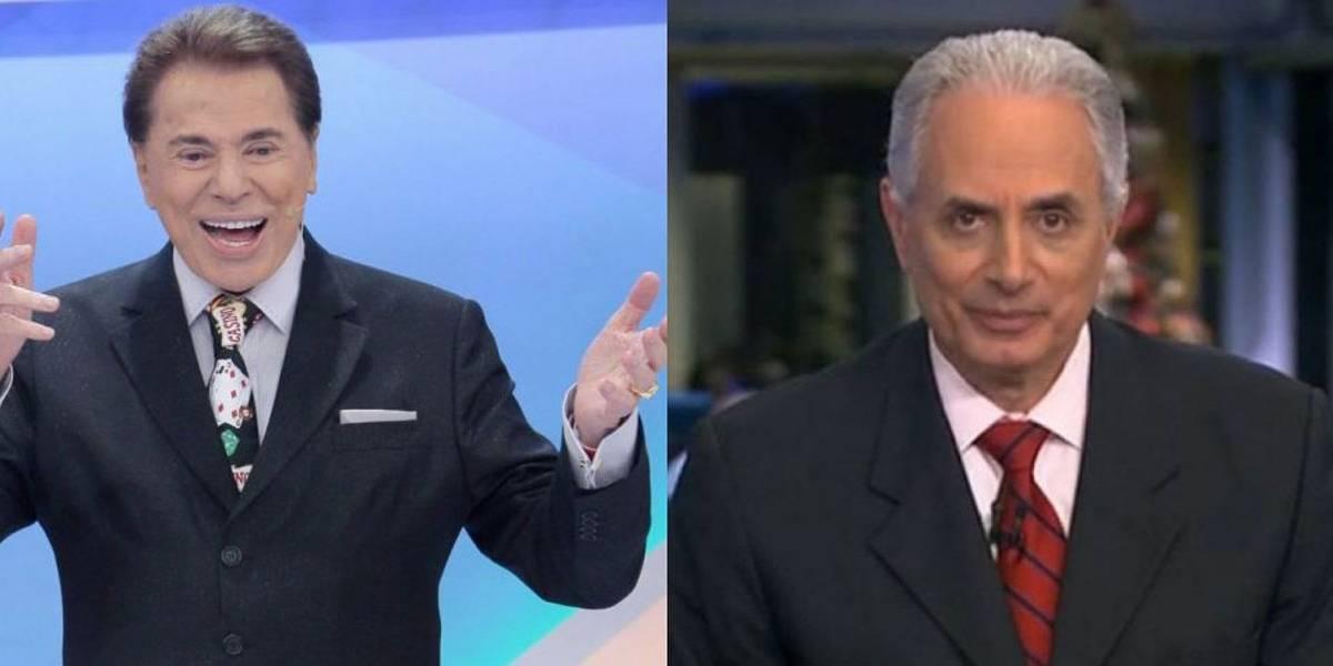 Silvio Santos teria aberto portas para William Waack no SBT, diz colunista