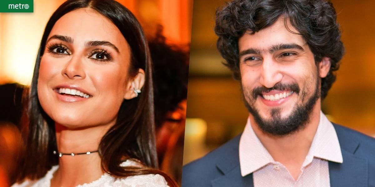 Thaila Ayala assume namoro com o ator Renato Góes