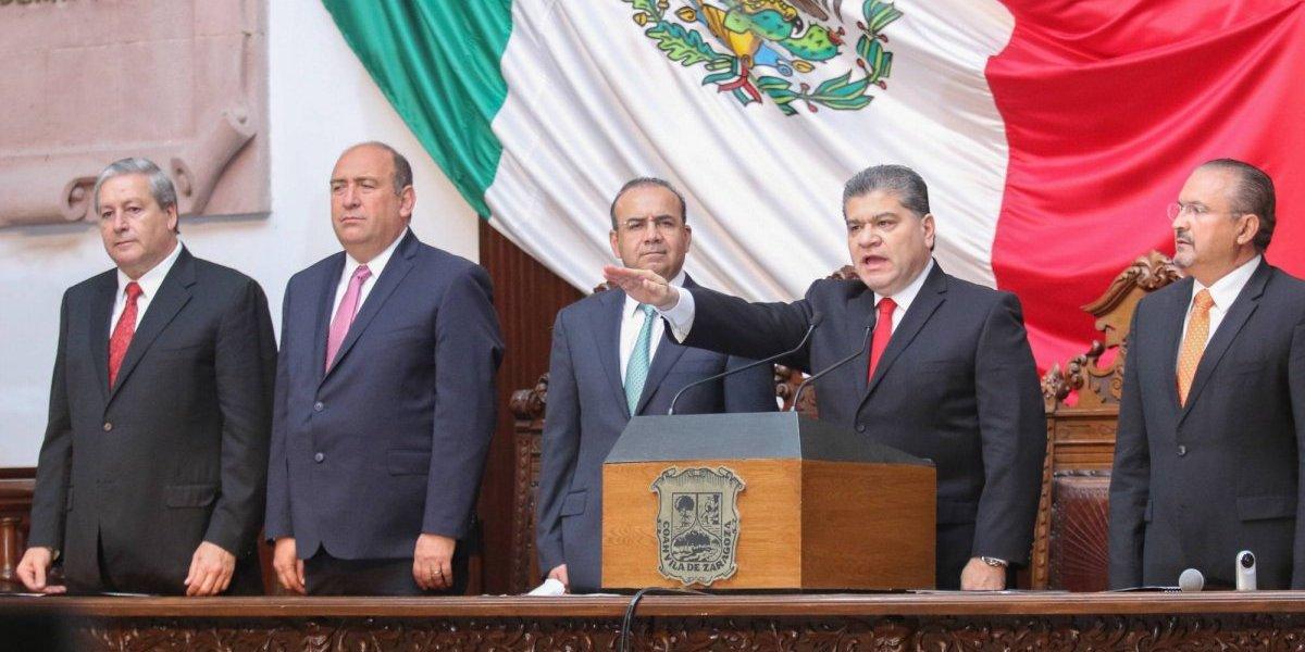 Miguel Ángel Riquelme Solís rinde protesta como gobernador de Coahuila