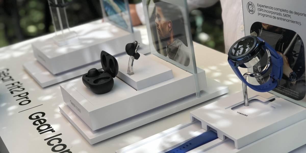 Nueva generación de wearables Gear llega a Chile