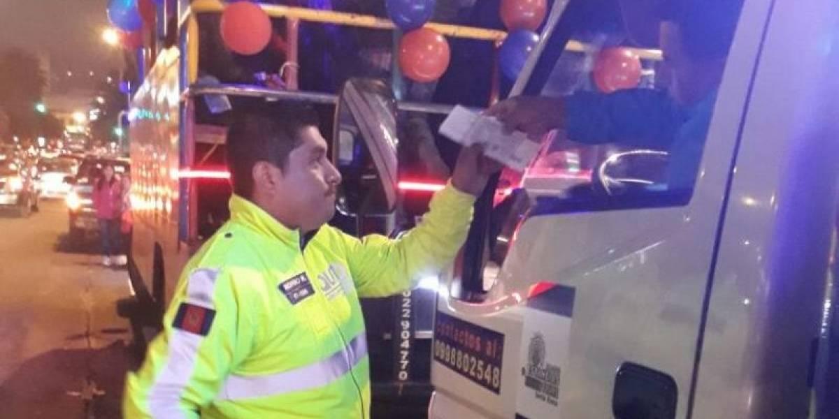 "AMT efectúa controles de ""Chivas"""