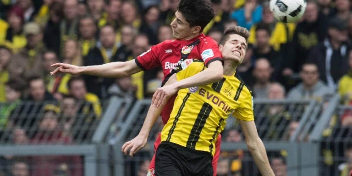 Minuto a Minuto: Charles Aránguiz y el Leverkusen buscan seguir escalando en la tabla ante el Dortmund
