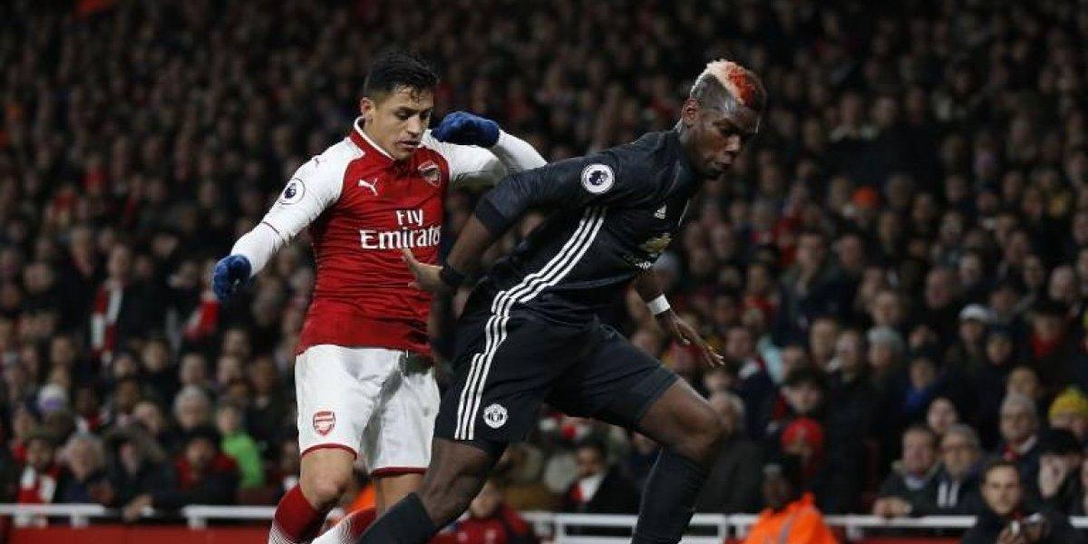 Alexis no puede solo: Arsenal cayó ante Manchester United en un vibrante partido