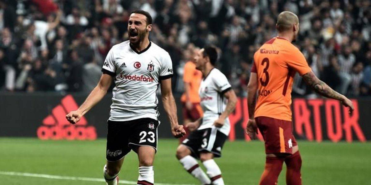 Gary Medel fue un Pitbull en la importante victoria de Besiktas ante el líder Galatasaray