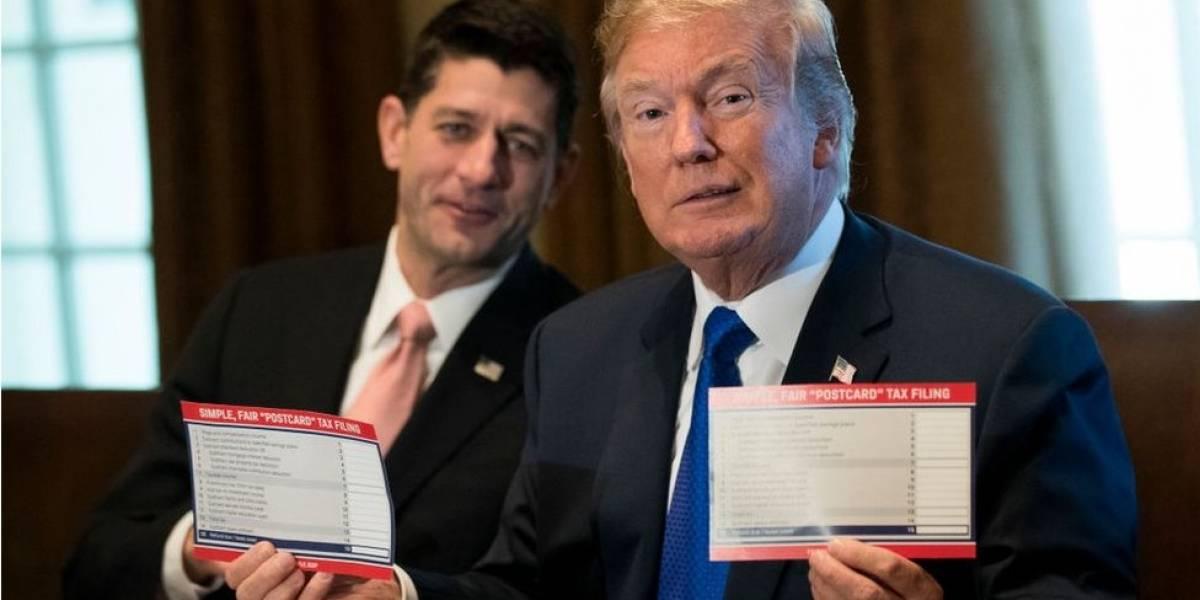 """EE.UU.: Senado aprueba la """"reducción de impuestos más grande en los últimos 30 años"""" que propuso Donald Trump"""
